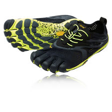 Vibram Bikila EVO Mens Yellow Black Five Fingers Running Road Shoes Trainers