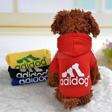 Pet Dog Cat Puppy Sweater Hoodie Coat Clothes Warm Costume Apparel New (XS-XXL)