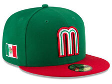 Official 2017 WBC Mexico World Baseball Classic New Era 59FIFTY Fitted Hat
