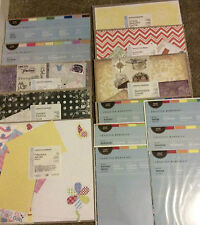 Creative Memories 12x12 Additions Album Kits Photo Mounting Paper NIP ~ U Pick