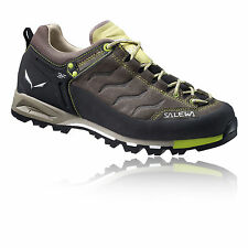 Salewa Mountain Womens Brown Grey Trail Outdoors Walking Sports Shoes Trainers
