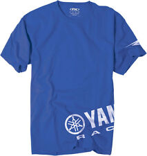 Factory Effex Official Licensed YAMAHA Racing Wrap T-Shirt (Blue) Choose Size