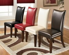 Modern Stylish Dining Room Side Chairs Colorfull Soft Seat Chairs Dining Chairs