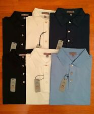 NEW Peter Millar E4  Polo Shirt Golf Summer Comfort Men Top S M L 1XLT