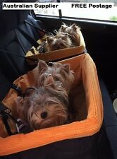 Large dog car seat - ideal for one or two small dogs weighing up to 14kgs