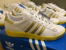 Adidas Forest Hill Trainers Sizes 6 7 8 9 10 11 BNIBWT. 2005. GOLD/WHITE