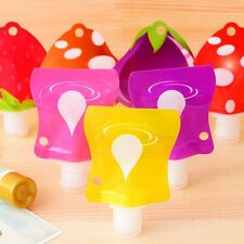 Cute Silicone Empty Tube Cosmetic Lotion Cream Travel Portable Containers Bottle