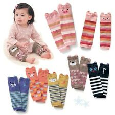 One Baby Toddler Girl Boy Cute Cotton Leggings Long Socks Tights Arm Leg Warmers