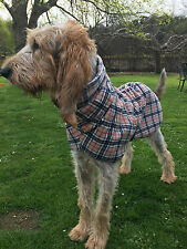 DOG  FLEECE SNOOD JUMPER , PYJAMAS , COAT IN SIZES  14'' TO 30'' ANY COLOUR NEW
