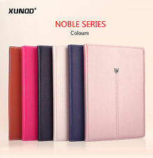 Genuine XUNDD Leather Wallet Card Holder Case Cover for iPad Air/Air 2/Mini 2 3