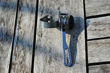 Vintage 1985 Sachs Huret Friction Single Shifter Lever Clamp Down Tube Band on