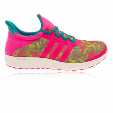 Adidas CC Sonic Womens Pink Green Running Gym Sports Shoes Trainers Pumps