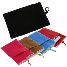 Soft Protective Cloth Sleeve Bag Pouch Double Layer for Samsung Galaxy S5 DW