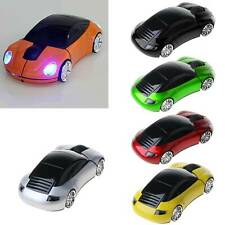 3D Optical Wireless Mouse Mice Car Shape USB Receiver For PC Laptop 2.4GHz
