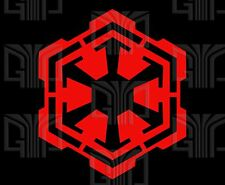 2 Sith Empire Logo B Cut Vinyl Decal Sticker Star Wars Small to Large sizes.QTY2