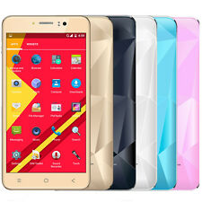 "5"" Unlocked Android Cell Phone Quad Core Sim 3G GSM GPS T-Mobile AT&T Smartphone"