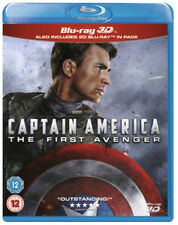 Captain America: The First Avenger [Blu-ray Boxset] [3D/2D] New Blu-ray