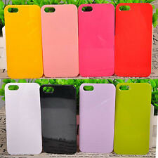 New Rubber Hard TPU Silicone Ultra-thin Back Case Cover For Apple iPhone 5 5S