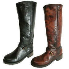 Freebird by Steven Womens Shado Distressed Leather Boot Shoe