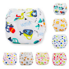 Reusable Washable Baby Infant Cloth Diaper Nappy Cover Wrap Adjustable Diapers