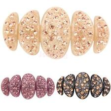 Fashion Acrylic Large crystal Rhinestone Bride hair barrette clip Hairpin