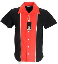 Rockabilly Bowling Black/Red  shirts Vintage/retro Shirts