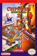 RGC Huge Poster - Chip 'N Dale Rescue Rangers 2 Nintendo NES BOX ART - NES015