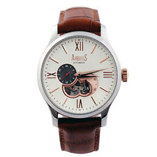 Arbutus Analog Casual Mens   Brown SWISS Watch AR809TRIF