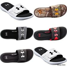 NEW Under Armour Men's Ignite IV Slides Sandals Flip Flops Camo