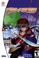 RGC Huge Poster - Skies of Arcadia Sega DreamCast BOX ART - SDC095