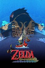 RGC Huge Poster - Legend of Zelda Wind Waker Nintendo GameCube Wii U - ZEL043