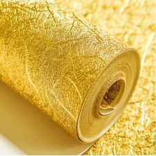 Thicking Waterproof Gold / Silver Foil Wallpaper Hotel KTV Bars TV Backdrop 5.3㎡