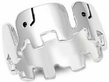 Sterling Silver Ring -   - Lucky Elephants