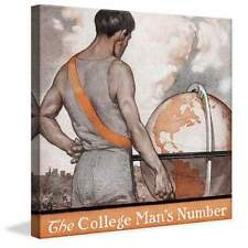 Marmont Hill College Mans Number 1905 Fine art canvas print from the Marmont Hil