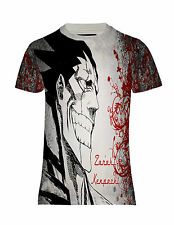 NEW BLEACH ZARAKI KENPACHI FIGHTER ANIME MANGA JAPAN HD PRINTED TEE TOP T-SHIRT