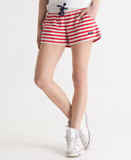 New Womens Superdry Tomboy Shorts Pier Red SVD