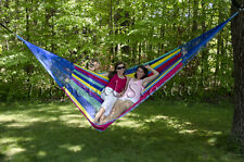 New Nylon Family Mexican Hammock | Large Breezy Point® Mayan Hammocks Handwoven