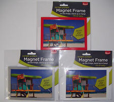 Adventa Fridge Marget Picture Frame Personalise with your Favourite Photo