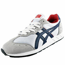 Onitsuka Tiger Mens T Stormer Classic Casual Retro Trainers White AUTHENTIC