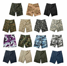 Military BDU Combat Cargo Shorts Army bdu Tactical Shorts Solid and Camouflage