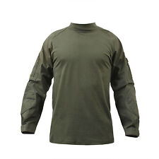 Military Olive Drab Combat Shirt Lightweight Tactical Army Top Rothco  #90015