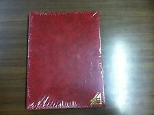 "Showgard Stamp Stockbook ""LEADER"" No. 2E12 with RED COVER & WHITE PAGES"