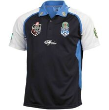 NEW SOUTH WALES BLUES STATE OF ORIGIN NSW SOO 2014 TRAINING POLO MENS SIZE