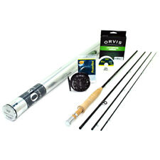"""NEW - Orvis Superfine Carbon Fly Rod Outfit 3wt 8'6"""" - FREE SHIPPING!"""
