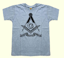 Masonic Freemason Square,Compasses Faith Hope Charity kid boy children t-shirt