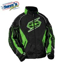 CASTLE X Men's Green SWITCH-12 Winter Snowmobile Jacket 72-804_