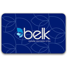 $25 / $50 / $100 Belk Gift Card - FREE Mail Delivery