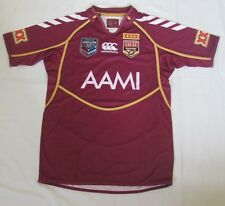 QUEENSLAND MAROONS NRL QLD SOO STATE OF ORIGIN 2013 REPLICA PRO JERSEY BOYS SIZE