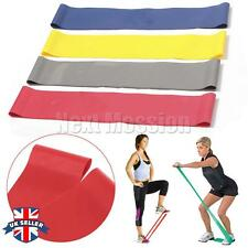 Tension Exercise Loop Gym Yoga Resistance Band Strength Weight Crossfit Training