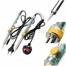 60W 220V Electronic Soldering Iron Welding Solder With Tin Wire UK/EU Plug